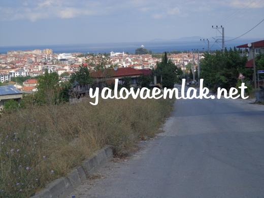 YALOVA'DA SATILIK DENİZ MANZARALI ARSA